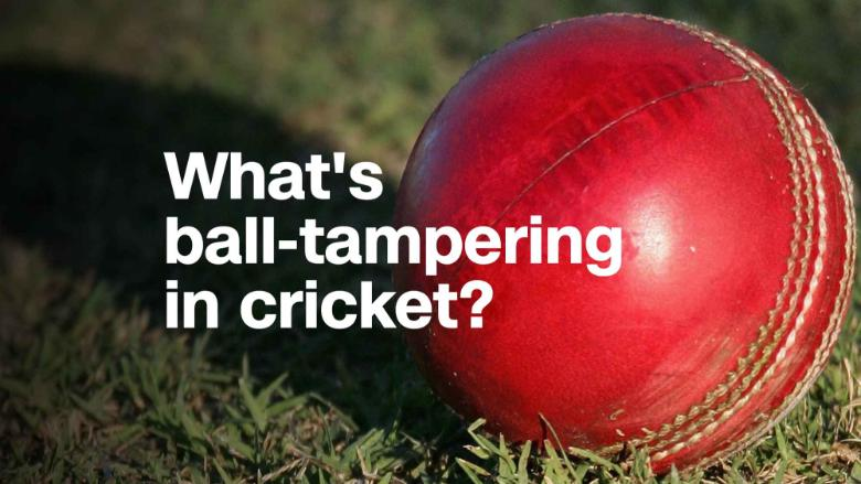 Ball tampering – make no mistake about it